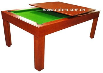 KBL B124 Dinner Pool Table,pool Table With Desk