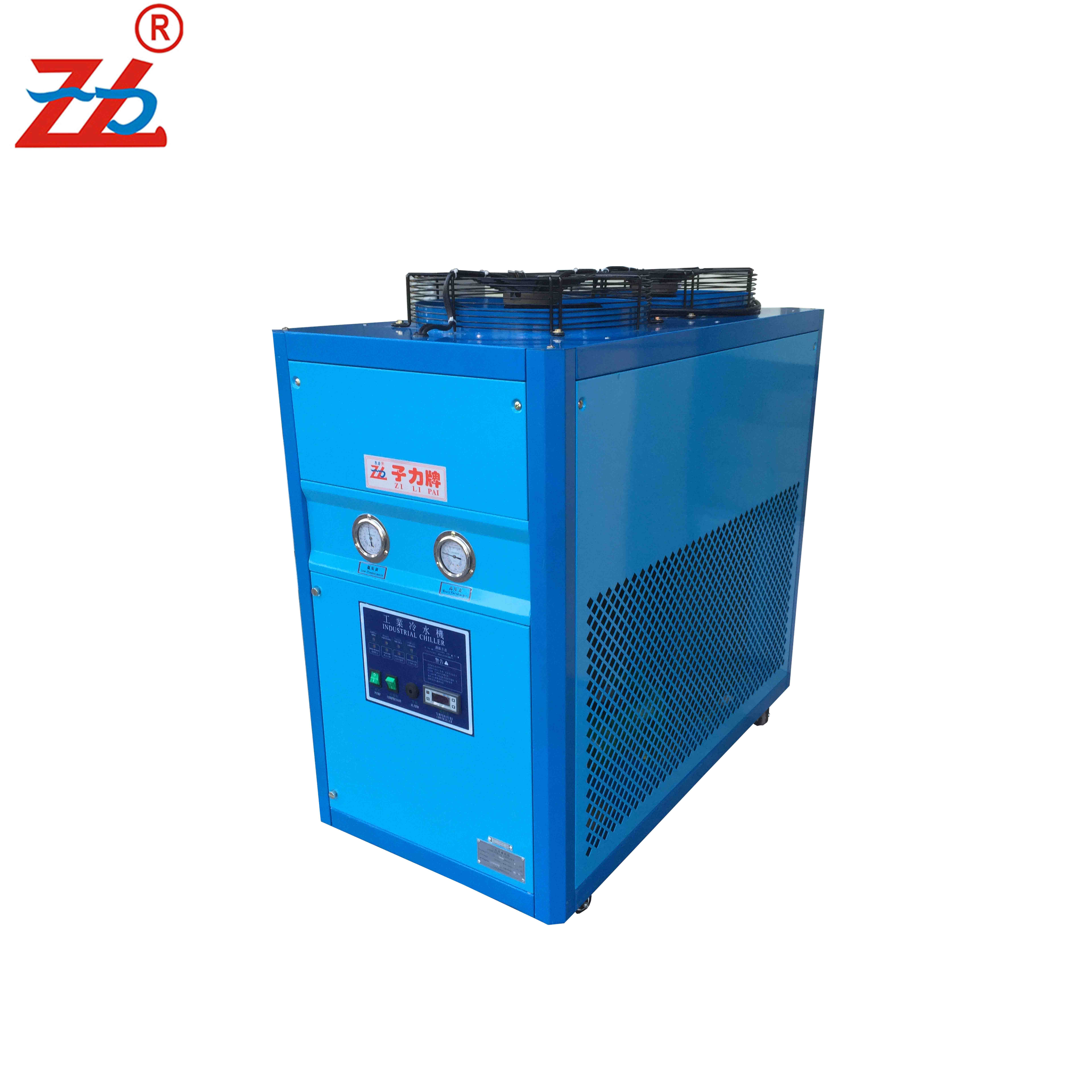 Ontelbaar 8HP Air chiller luchtgekoelde water chiller voor industrie chiler waterkoeling machine tafel top mini vriezer