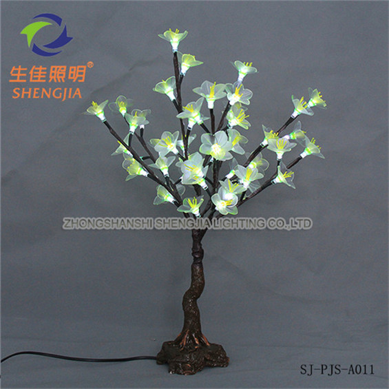 Latest 2011 colorful led wall light for decorate wood
