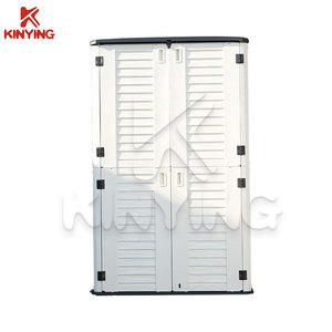 Kinying Brand HDPE Material Outdoor Storage Shed Plastic Tool Cabinets Filing Cabinet With Cheap Price
