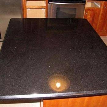 Black Galaxy Granite Floor Tiles