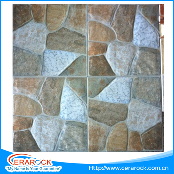 Popular Decorative Natural Coral Stone Design Outdoor Floor Tile