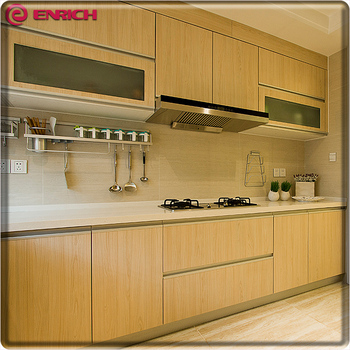 Modern Kitchen Cabinets Mdf Simple Design Partical Board Carcase