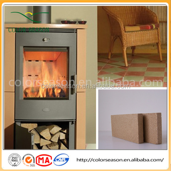 High Quality Vermiculite Fireproof Board Material for Fireplace