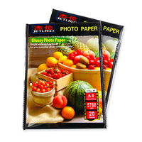 High glossy A4 Inkjet Double Sided Photo Paper 160gsm glossy photo paper
