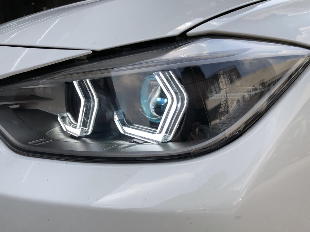 Iconic Crystal Led Angel Eyes B m w For Bmw F30 F32 (335i) F82 And F80  (m3/m4) M5 E90 - Buy Led Angel Eyes,Iconic Angel Eye,B m w F30 F80 M5  Product