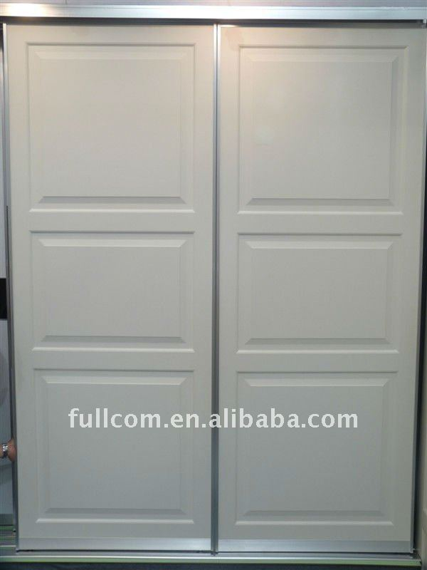 white PVC wardrobe sliding door antique