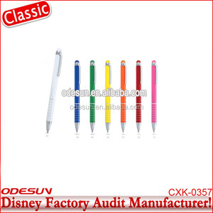 Disney Universal NBCU FAMA BSCI GSV Carrefour Factory Audit Manufacturer Promotional Plastic Ballpoint Pen Knife Pen With Knife