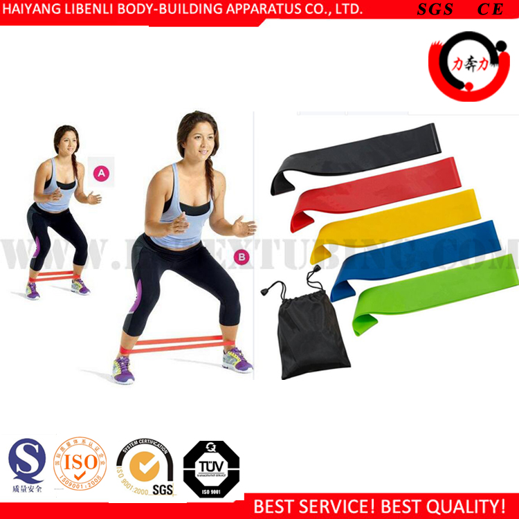 Custom Color Exercise Loop Leg Training Resistance Bands