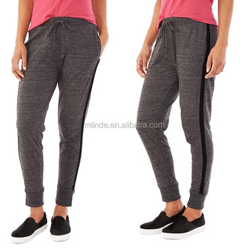 Strakke Joggingbroek Dames.Vrouwen Gym Panty Fitness Slijtage Eco Jersey Mens Joggingbroek