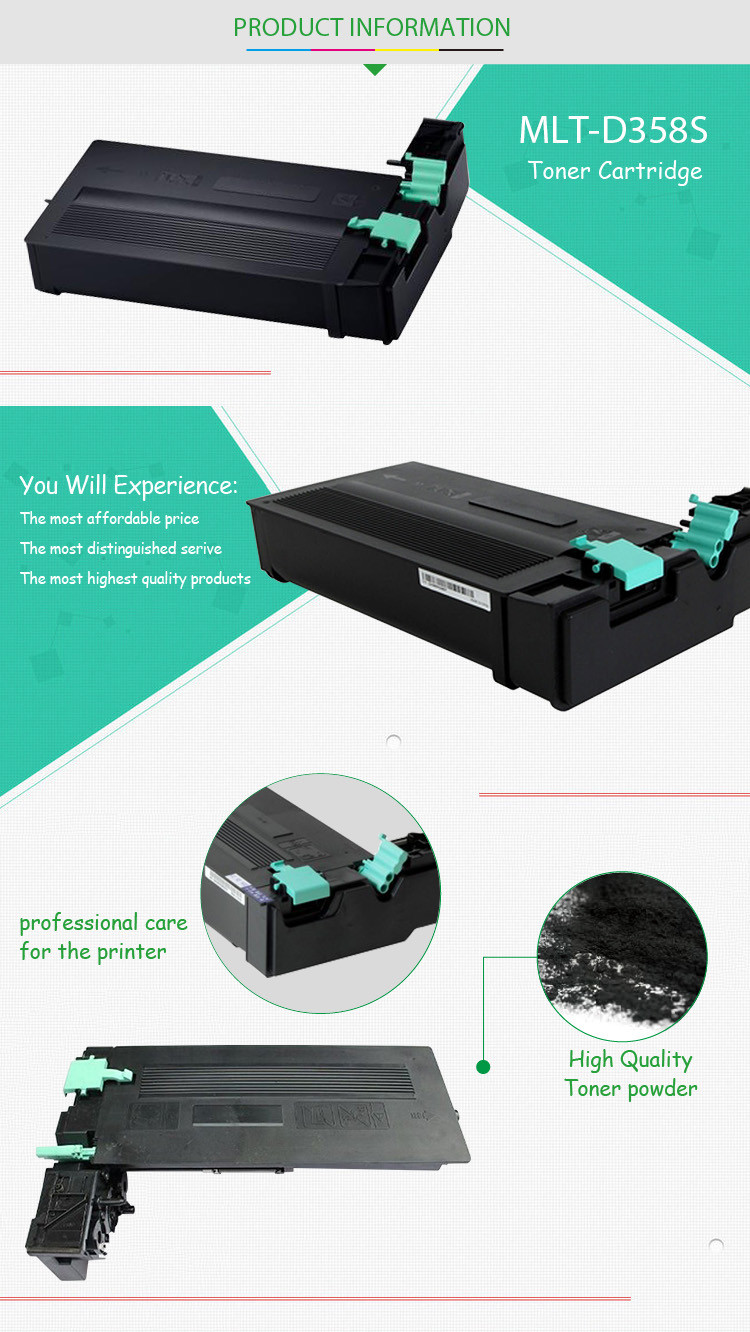 Compatible for Samsung MLT-D358S Toner Cartridge SL-M5370LX M4370LX Series