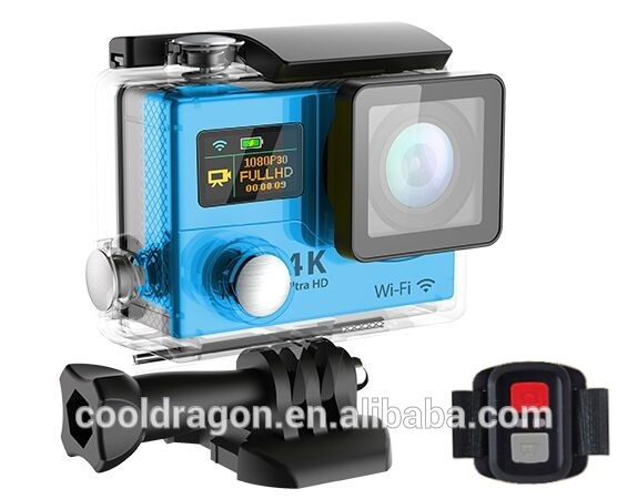 original Eken H3R 4k sport action camera With Wifi and 2.4G wireless remote