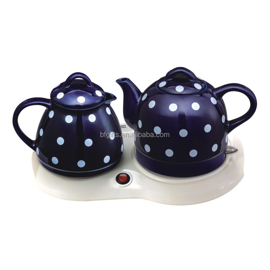 OEM 1.0L small design ceramic kettle high quanlity personalized ceramic tea pots
