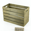 new vintage style wholesale cheap wooden crates for sale