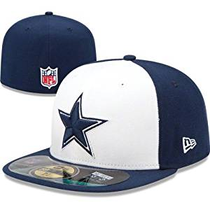 Get Quotations · Dallas Cowboys New Era 59Fifty Sideline Cap dfaa8b7f1