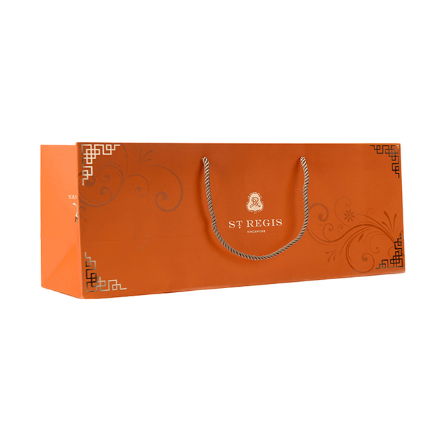 buy cheap cheap paper bag gift products cheap cheap price creative design eco friendly rectangle custom logo wine gift coated paper bag