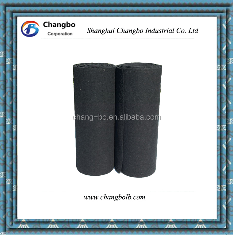 Non Woven Activated Carbon Air Filter Cloth For Dust Filter Bags ...