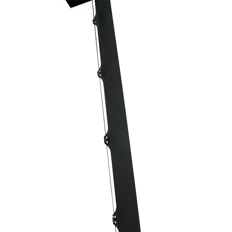 Piso de pie eléctrico aumento Pantalla de proyector con control remoto
