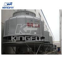 Round counter flow FRP cooling tower 100t
