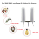 2 x 18dBi MIMO 698~2690Mhz omni long range 4g lte outdoor antenna and 4g antenna