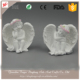 Europe Style Resin Craft Antique White Angel Buddha Statue Home Decor