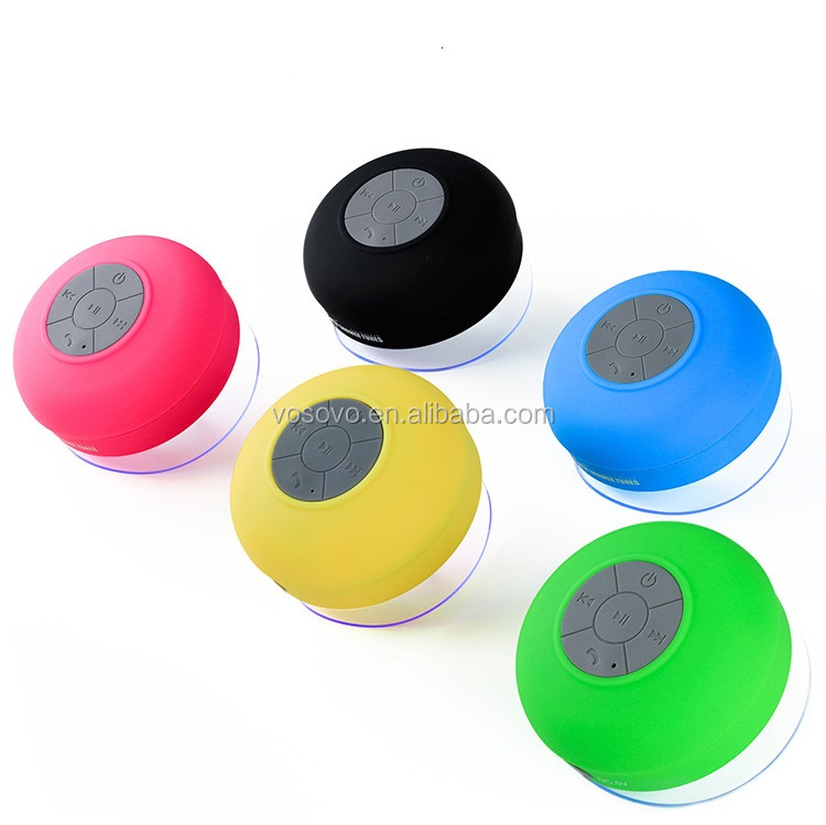 Waterproof Speaker Wireless Shower Handsfree Speakers Car Waterproof Portable mini MP3 Super Bass Receive Call & Music