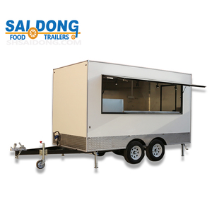 New Condition and No overseas service provided After-sales Service Provided food van/snack food trailer for sale
