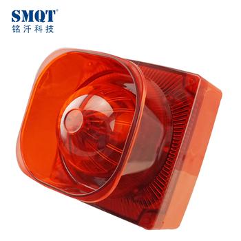 8 Tones Adjustable105db Outdoor Fire And Emergency Use Alarm Strobe Light  Siren - Buy Strobe Light Siren,Fire And Emergency Use Alarm Strobe Light