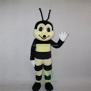 HI factory funny bee mascot costume custom made carnival mascot costumes excellent lyjenny for sale for adults