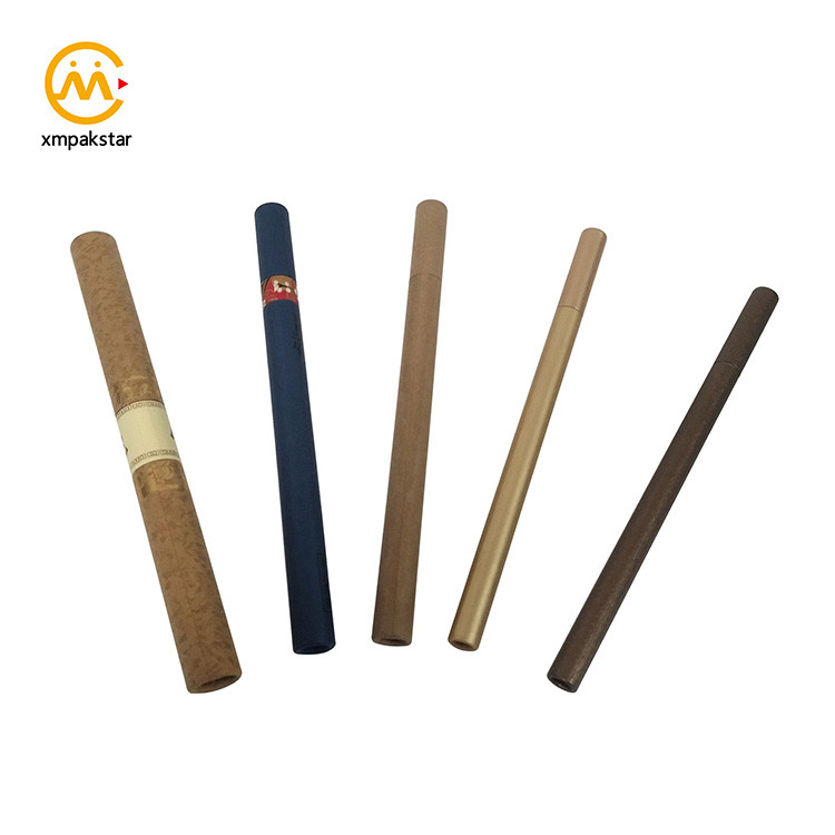 China bulk buy mini thin round paper box incense stick small cardboard tube packaging