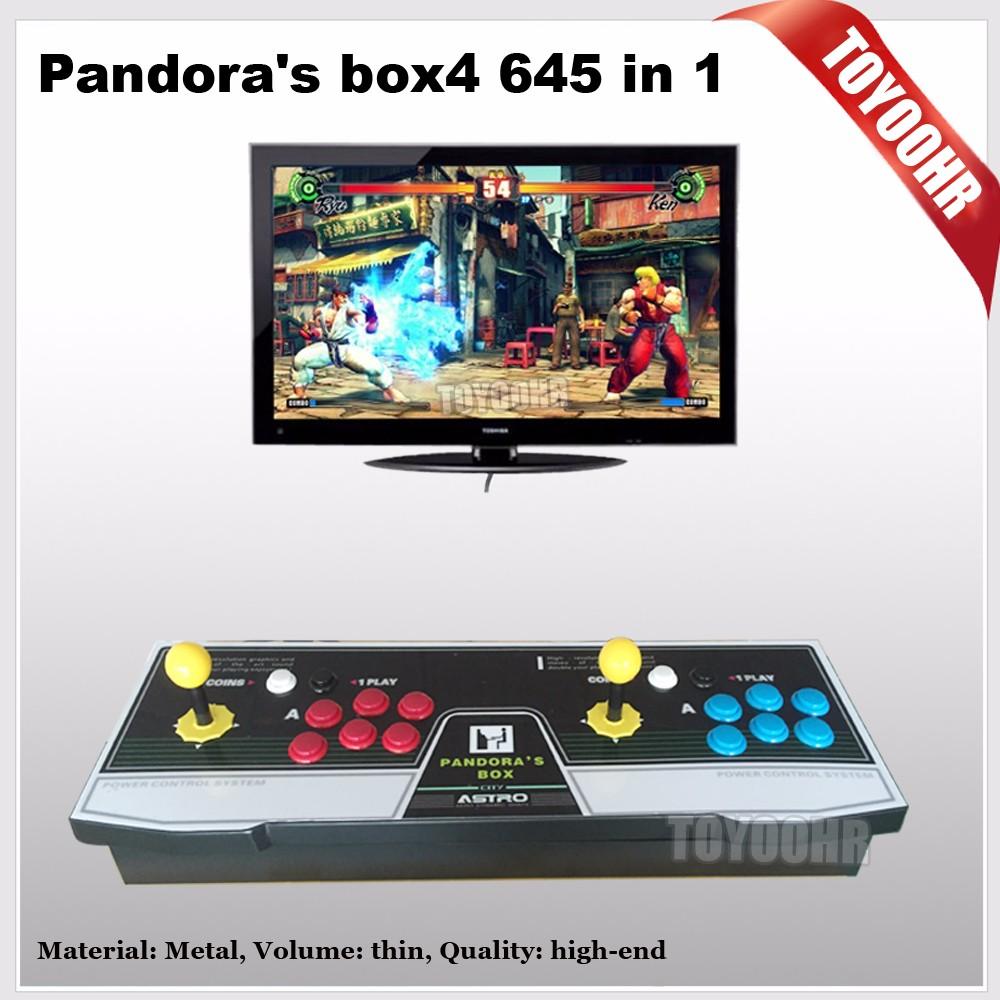 Arcade Joystick Game Consoles With Jamma Multi Games Pandora Box 4 ...