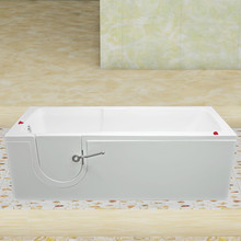 lower bathtubs with non-leakage door with combo massage CWBL15