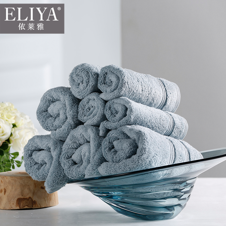 Free sample five star luxury hotel & spa bath collection towels for hotel bath,hotel supplies towel set plain design with logo