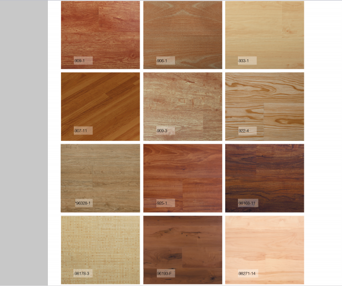 Cheap price 100% virgin pvc uv coating vinyl flooring for commercial and home