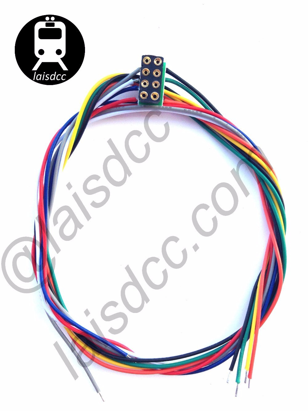 8 Pin Dcc Decoder Sockets Nem 652 With Wired Harness - Buy Dcc Decoder Dcc Wiring Harness on