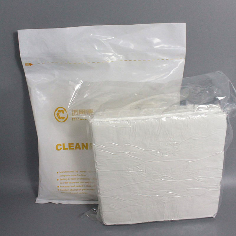 100% Polyester Cleanroom Wipe Lint Free Fabric Wiper