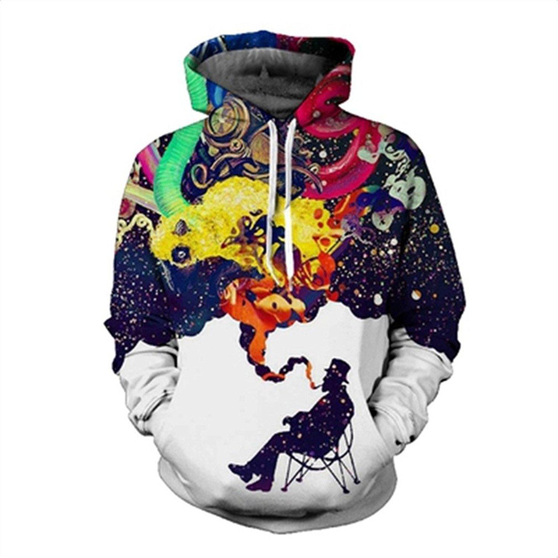 34d64503ba36 Get Quotations · buybuybuysell Graffiti Autumn Hoody Hoodies Men Women 3D  Sweatshirts With Cap Print Couple Shirt Casual