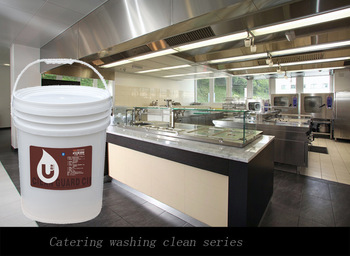 Kitchen Cleaning Use Products Stove Cleaner Commercial
