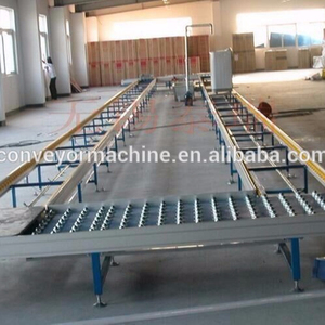 Customized Size Roller Conveyor Systems Case Transport Conveyor