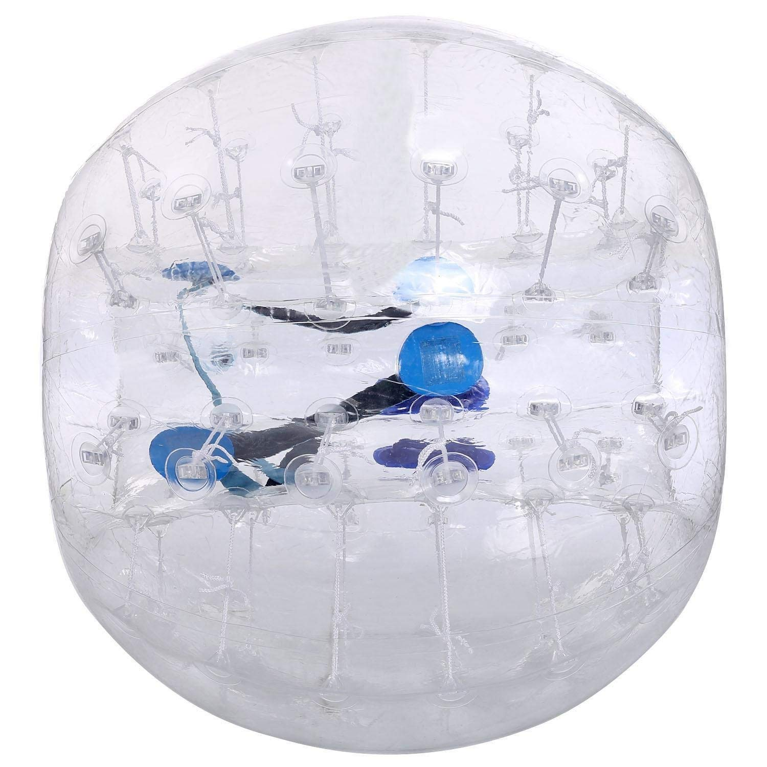 Meflying Bubble Ball Inflatable Bumper Ball, 1.2M/1.5M Bubble Soccer Ball Zorb Ball for Adults and Kids (US Stock)