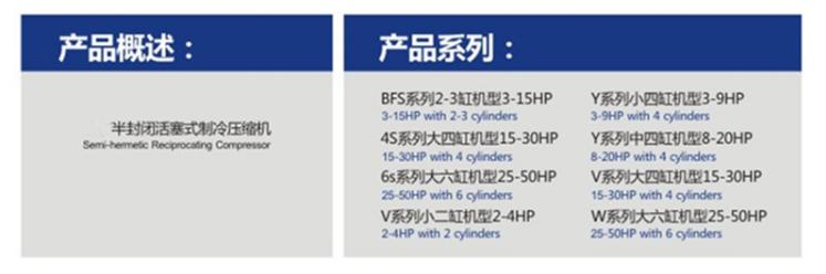 Bitzer เครื่องทำความเย็น semi - hermetic ลูกสูบคอมเพรสเซอร์ขาย 2hp 3hp 4hp 5hp 6hp 10hp 12hp 15hp 20hp 40hp