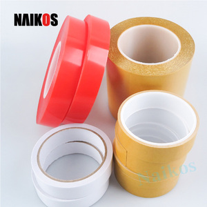 White/yellow release paper PET Double Sided adhesive Tape