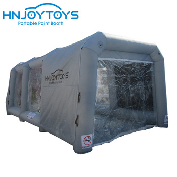 2018 Factory Price inflatable paint booth portable spray booth for sale