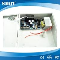 NO/NC/COM/12V/GSN/PUSH.UPS DC11v~14v adjustable output voltage access control power supply