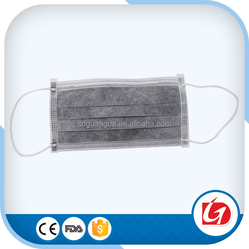 Four Layer Disposable Dust Filter Antivirus Bacteria Mouth Cover