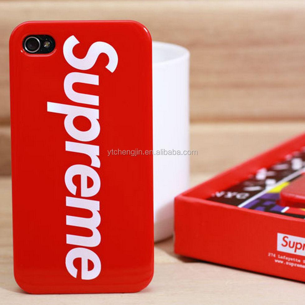 Supreme Red White Logo Soft Rubber Iphone 66s Plus Case
