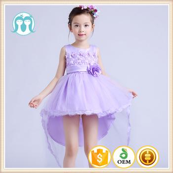 2017 Lace Angle Baby Fairy Kid Fashion Show Flower Dresses Kids