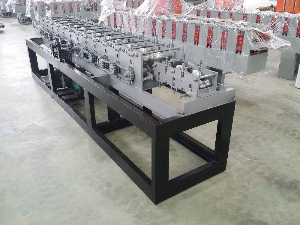 Garage Door Slats Manufacturing Line Shutter Door Roll Forming Machine