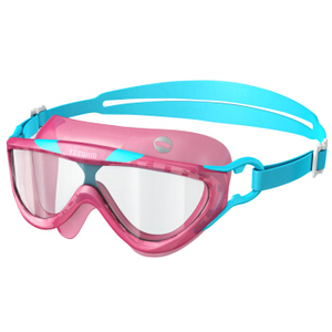 Customized Best Children Anti Fog Pink Girls Swimming Goggles For Kids