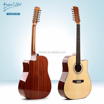 2992edb6c1e0 L-12x-30 De Alta Calidad Negro 12-cuerdas De Guitarra - Buy 12 ...